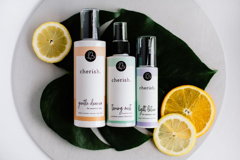 Cherish Skincare - Natural Skincare for sensitive skin