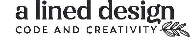 A Lined Design logo