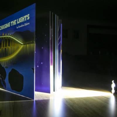 Glow book torch
